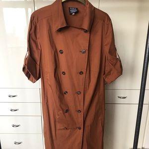 Akris Bergdorf Goodman Trench Dress